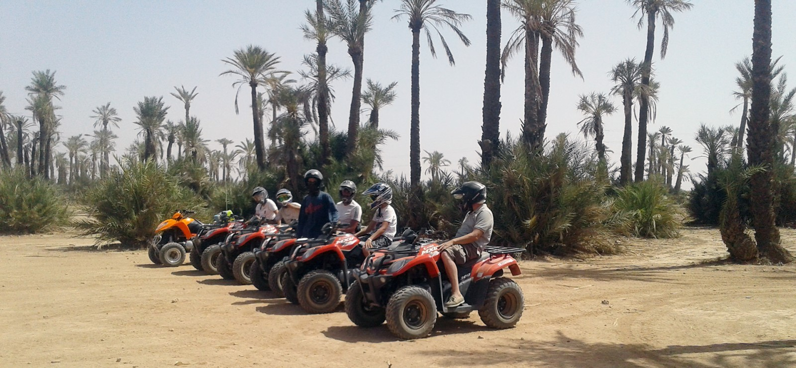 CHERIF EVENTS Balade Quad Palmeraie Barage